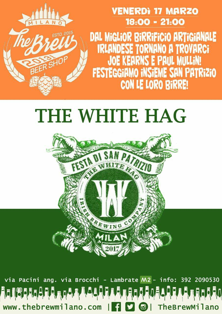 St. Patrick's Day con The White Hag