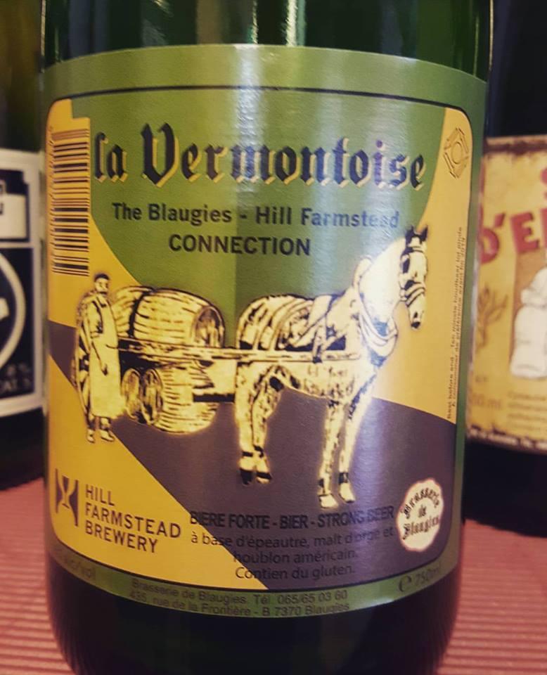 Vermontoise Saison da Brasserie De Blaugies e HillFarmstead.