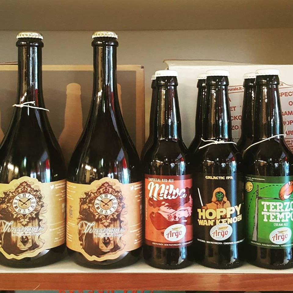 Nuove birre da BirrificioArgo.