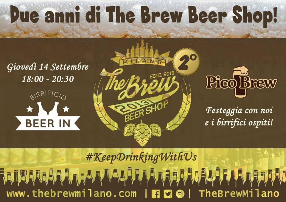 Due anni di The Brew Beer Shop